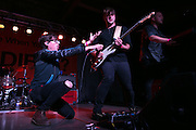 Joywave vocalist Daniel Armbruster and guitarist Joseph Morinelli perform at Anthology on East Avenue in Rochester on Saturday, October 10, 2015.