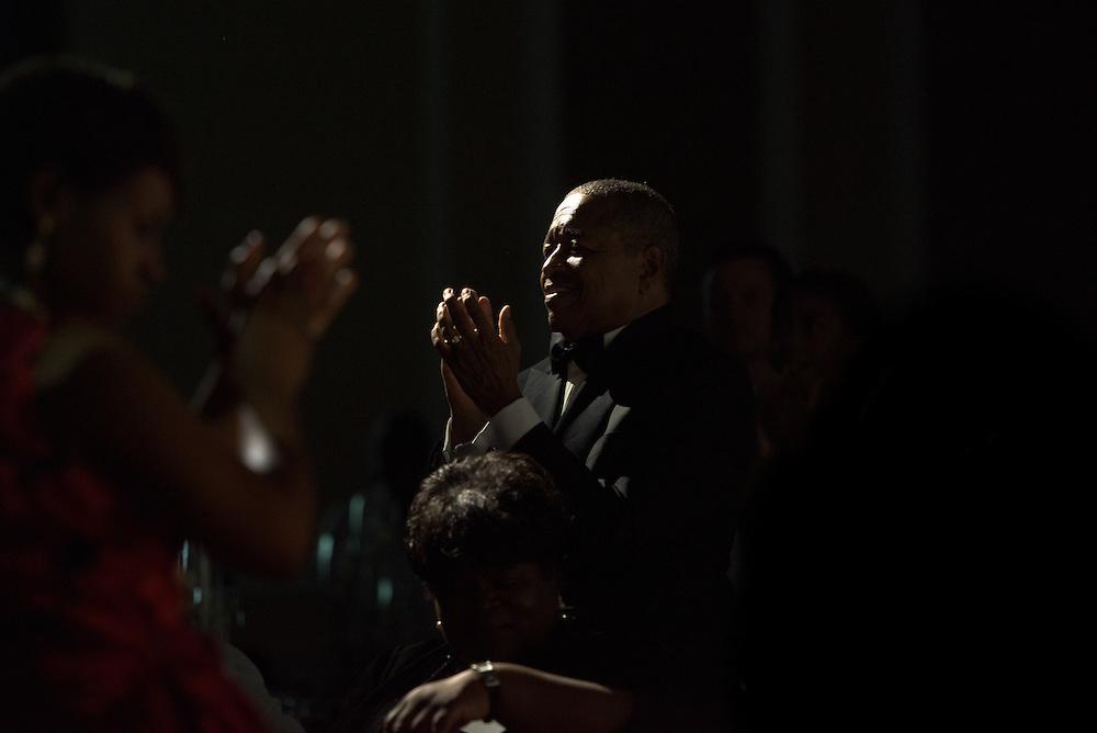 Ohio University President, Dr. Roderick McDavis, attends the 2016 Black Alumni Reunion Gala held at the Baker Center Ballroom on Friday, September 16, 2016.