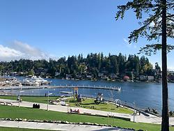 United States, Washington, Bellevue, Meydenbauer Beach Park