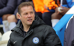 Peterborough United Manager Graham Westley - Mandatory by-line: Joe Dent/JMP - 16/04/2016 - FOOTBALL - Weston Homes Community Stadium - Colchester, England - Colchester United v Peterborough United - Sky Bet League One