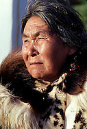 Eskimo woman from Kotzebue