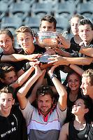 Stanislas WAWRINKA avec les ramasseurs de balles  - 07.06.2015 - Jour 15 - Finale  - Roland Garros 2015<br /> Photo : Nolwenn Le Gouic / Icon Sport