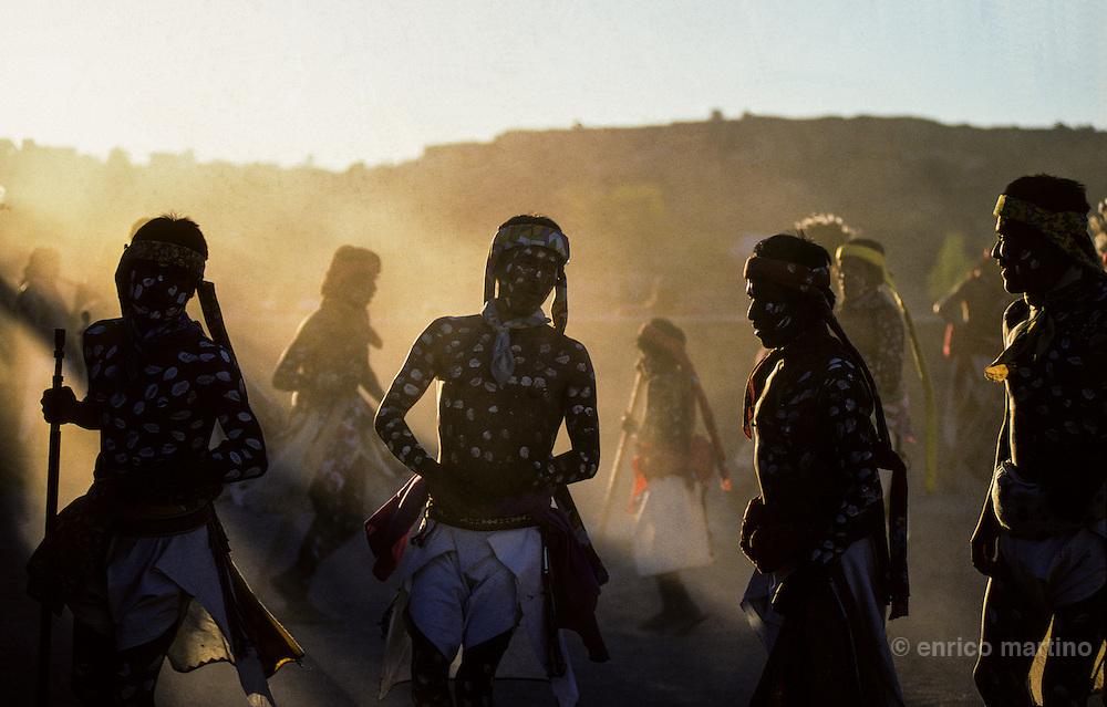 Copper Canyon (Barranca del Cobre): Norogachi, Tarahumara Holy Week.