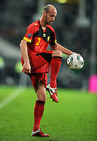 FUSSBALL  INTERNATIONAL  EM 2012  QUALIFIKATION  Deutschland - Belgien                              11.10.2011 Laurent CIMAN (Belgien)