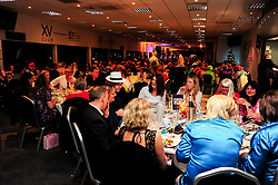 Guests enjoy the ABBA themed Christmas Party at Sixways Stadium - Mandatory by-line: Ryan Hiscott/JMP - 15/12/2018 - COMMERCIAL - Sixways Stadium - Worcester, England - Worcester Warriors Christmas ABBA Party