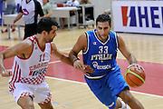 Porec 09 Agosto 2012 - Amichevole Croazia Italia<br /> Nella Foto : ARADORI<br /> Foto Ciamillo