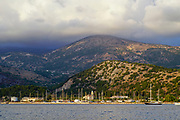 Argostoli on the Greek Island of Cephalonia, Ionian Sea, Greece