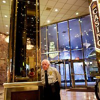 Peter (last name withheld) spent 31 years as a security officer at Trump casino from the day it opened, which will shutter its doors next week, in Atlantic City, New Jersey on September 11, 2014.