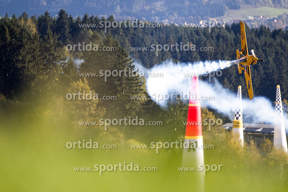 26.10.2014, Red Bull Ring, Spielberg, AUT, Red Bull Air Race, Renntag, im Bild Matt Hall, (AUS) // during the Red Bull Air Race Championships 2014 at the Red Bull Ring in Spielberg, Austria, 2014/10/26, EXPA Pictures © 2014, PhotoCredit: EXPA/ M.Kuhnke