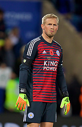 LEICESTER, ENGLAND - Saturday, November 10, 2018: Leicester City's goalkeeper Kasper Schmeichel after the FA Premier League match between Leicester City FC and Burnley FC at the King Power Stadium. (Pic by David Rawcliffe/Propaganda)