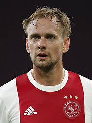 Siem de Jong of Ajax during the international friendly match between Ajax Amsterdam and Borussia Mönchengladbach at the Amsterdam Arena on November 21, 2017 in Amsterdam, The Netherlands