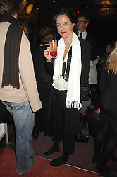 ALICE TILBURY at the Grand Classics screening of the film 'Don't Look Now' sponsored by Motorola held at The Electric Cinema, 181 Portobello Road, London W11 on 24th September 2007. <br />