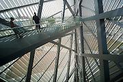 Militärhistorisches Museum, Anbau, Aussichtsterrasse (umgebaut von Liebeskind), Neustadt, Dresden, Sachsen, Deutschland | Military Museum, annex by Liebeskind, Neustadt, Dresden, Saxony, Germany,
