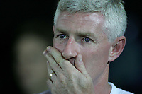 Photo: Paul Thomas.<br /> Watford v Norwich. Coca Cola Championship.<br /> 13/09/2005.<br /> <br /> Nigel Worthington, a worried Norwich manager.