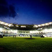 Inside the new Omar Torrijos baseball stadium in the city of Santiago, Veraguas.