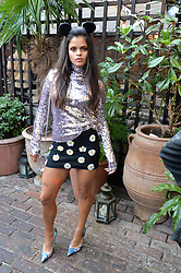 BIP LING at the Warner Music Group Summer Party in association with British GQ held at Shoreditch House, Ebor Street, London E2 on 8th July 2015.