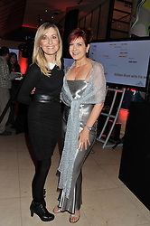 Left to right, FIONA PHILLIPS and PENNY SMITH at the 2011 Costa Book Awards held at Quaglino's, 16 Bury Street, London on 24th January 2012.