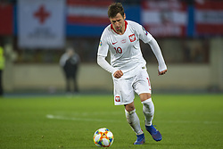 March 21, 2019 - Vienna, Austria - Krzegorz Krychowiak of Poland in action during the UEFA European Qualifiers 2020 match between Austria and Poland at Ernst Happel Stadium in Vienna, Austria on March 21, 2019  (Credit Image: © Andrew Surma/NurPhoto via ZUMA Press)
