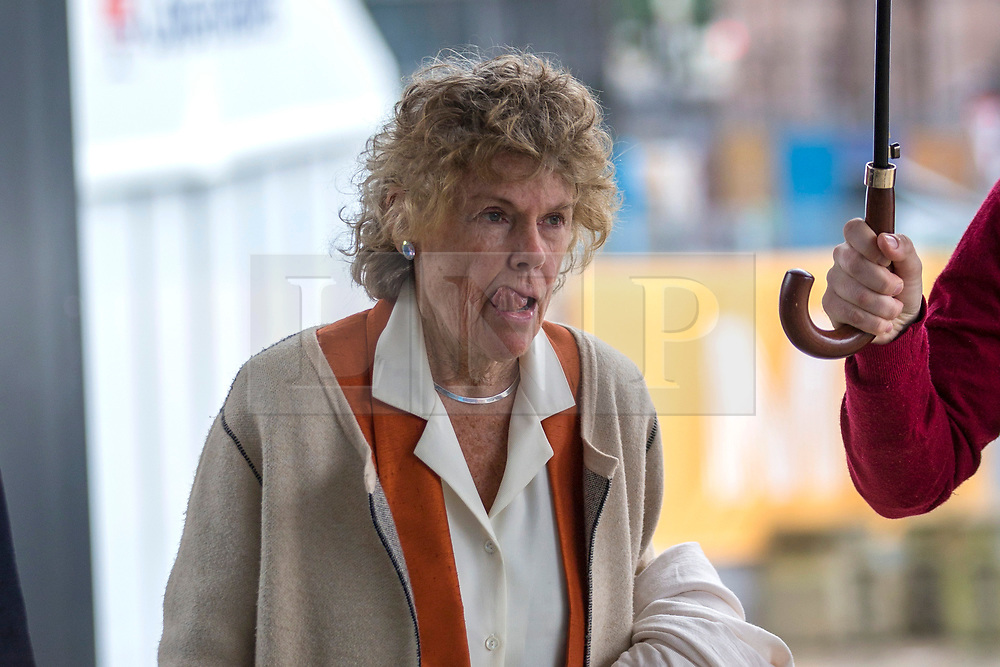 © Licensed to London News Pictures. 29/09/2019. Manchester, UK. Labour MP Kate Hoey arrives at the Conservative Party Conference at Manchester Central in Manchester. Photo credit: Andrew McCaren/LNP
