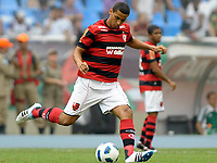 20111009: RJ, BRAZIL -  Football match between Flamengo and Fluminense at Engenhao stadium in Rio de Janeiro. In picture Welinton<br /> PHOTO: CITYFILES