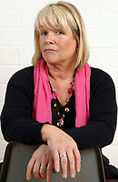 Linda Robson from the original cast of the BBC television series Grumpy Old Women.<br /> Client Breast Cancer Campaign