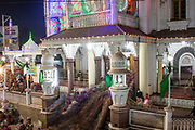 Before arriving at Sabarimala temple