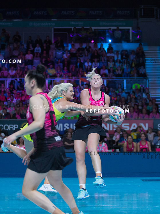 Storm Purvis during the Fast5 Netball 3rd Vs 4th match between New Zealand Silver Ferns and Australia at Hisense Arena Melbourne Australia. Sunday 29th October 2017. Copyright Photo. Brendon Ratnayake / www.photosport.nz