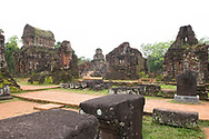 The ruins of Cham Temple in Group B and C at the My Son Sanctuary, Quang Nam Province, Vietnam, Southeast Asia