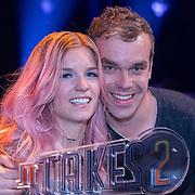 NLD/Baarn/20180410 - 2018 finale 'It Takes 2, Dionne Slagter en haar broer