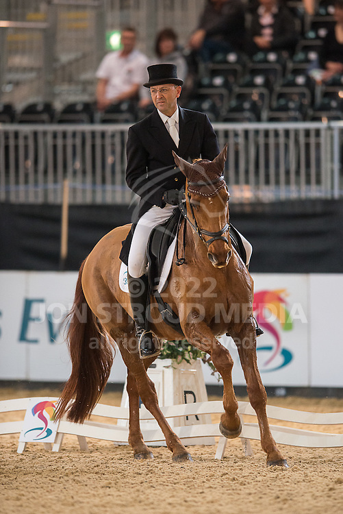 Bill Levett (AUS) & Hippolyte - Dressage - Express Eventing - Horse World Live - ExCel London - 17 November 2012