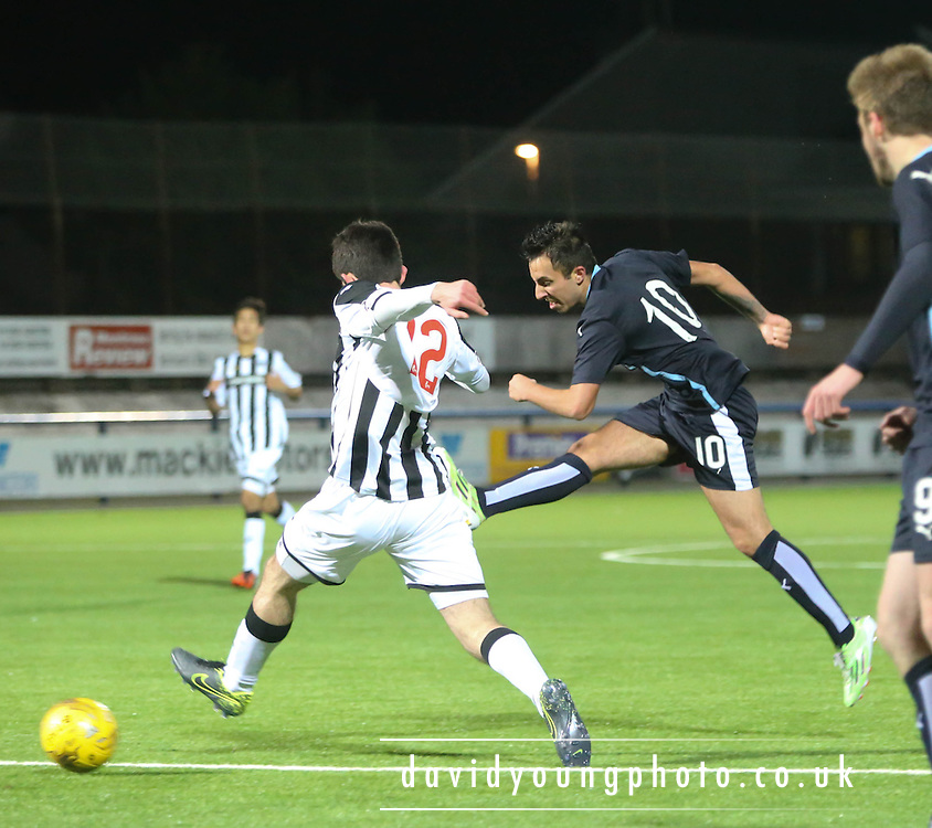 Dundee&rsquo;s Dylan Carrerio - Dundee v Dunfermline under 20s - SPFL Development league <br /> <br />  - &copy; David Young - www.davidyoungphoto.co.uk - email: davidyoungphoto@gmail.com