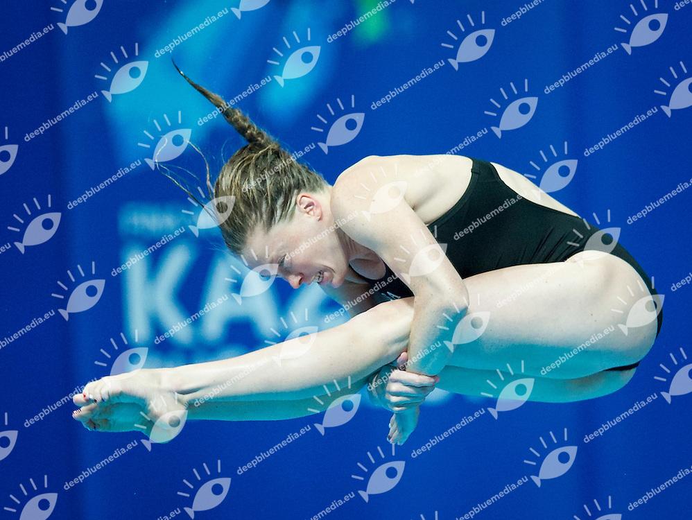 COZAD Amy USA<br /> Platform Women 10m Preliminary<br /> Day6 29/07/2015<br /> XVI FINA World Championships Aquatics<br /> Diving<br /> Kazan Tatarstan RUS July 24 - Aug. 9 2015 <br /> Photo Pasquale Mesiano/Deepbluemedia/Insidefoto