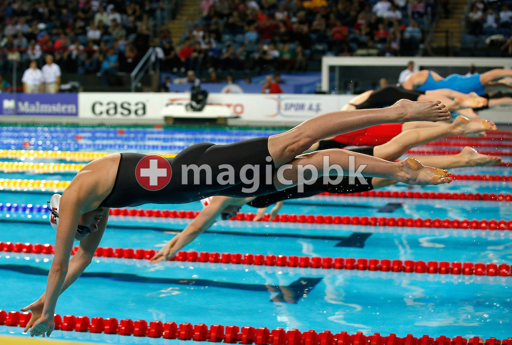 Danielle VILLARS of Switzerland competes in the women's 200m Freestyle Heats during the 11th Fina World Short Course Swimming Championships held at the Sinan Erdem Arena in Istanbul, Turkey, Sunday, Dec. 16, 2012. (Photo by Patrick B. Kraemer / MAGICPBK)