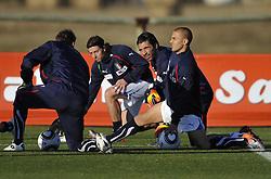 09.06.2010, .Centurion, Johannesburg, RSA, FIFA WM 2010, Italien Training im Bild Fabio Cannavaro e Gianluigi Buffon, EXPA Pictures © 2010, PhotoCredit: EXPA/ InsideFoto/ G. Perottino / SPORTIDA PHOTO AGENCY