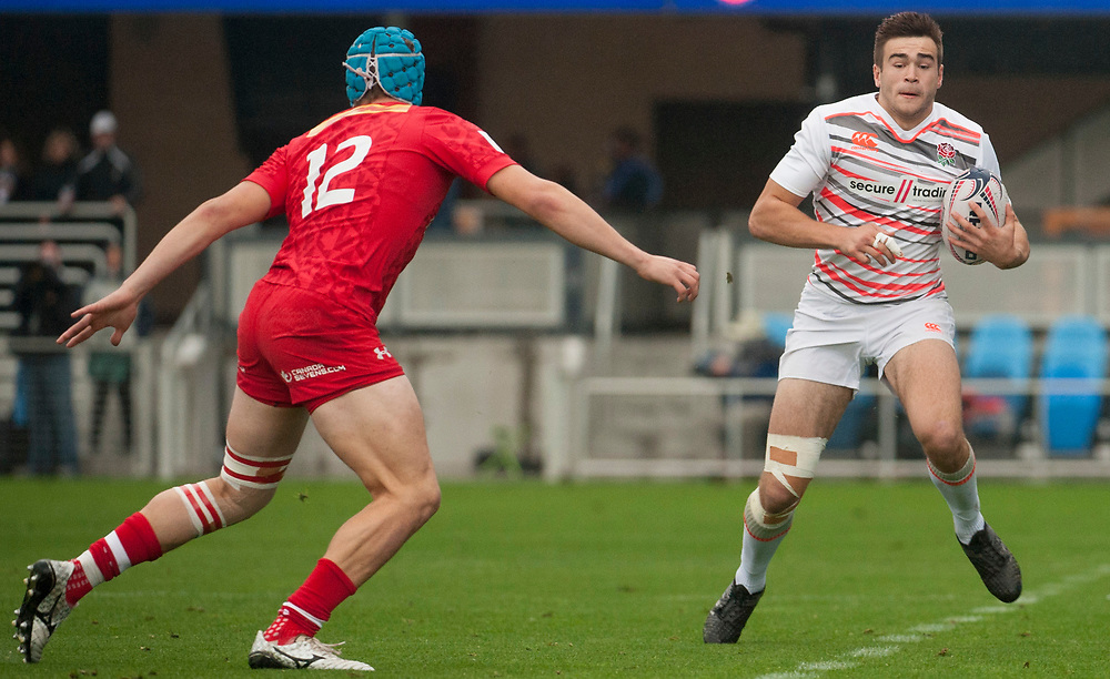 Canada play England at the Silicon Valley Sevens in San Jose, California. November 4, 2017. <br /> <br /> By Jack Megaw.<br /> <br /> CANENG<br /> <br /> <br /> <br /> www.jackmegaw.com<br /> <br /> jack@jackmegaw.com<br /> @jackmegawphoto<br /> [US] +1 610.764.3094<br /> [UK] +44 07481 764811