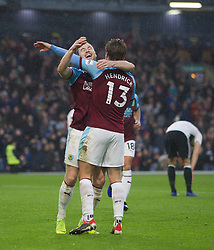 Burnley celebrate after scoring their second goal - Mandatory by-line: Jack Phillips/JMP - 12/01/2019 - FOOTBALL - Turf Moor - Burnley, England - Burnley v Fulham - English Premier League