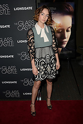 August 9, 2017 - New York, NY, USA - August 9, 2017  New York City..Brigette Lundy-Paine attending 'The Glass Castle' film premiere on August 9, 2017 in New York City. (Credit Image: © Kristin Callahan/Ace Pictures via ZUMA Press)