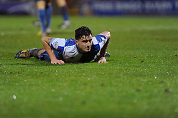 Bristol Rovers' Oliver Norburn cuts a dejected figure - Photo mandatory by-line: Dougie Allward/JMP - Tel: Mobile: 07966 386802 14/12/2013 - SPORT - Football - Morecombe - Globe Arena - Morecombe v Bristol Rovers - Sky Bet League Two