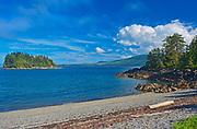 Pacific Ocean. Skidegate. Graham Island. , Haida Gwaii (formerly the Queen Charlotte Islands), British Columbia, Canada