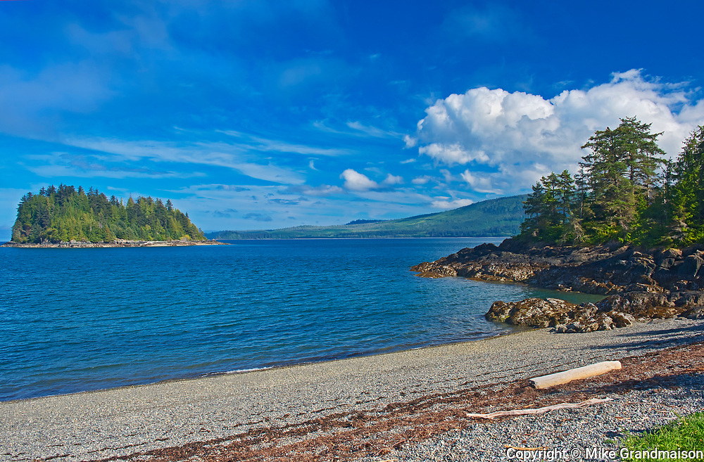 Pacific Ocean. Skidegate. Graham Island. , Haida Gwaii (formerly the Queen Charlotte Islands), British Columbia, Canada