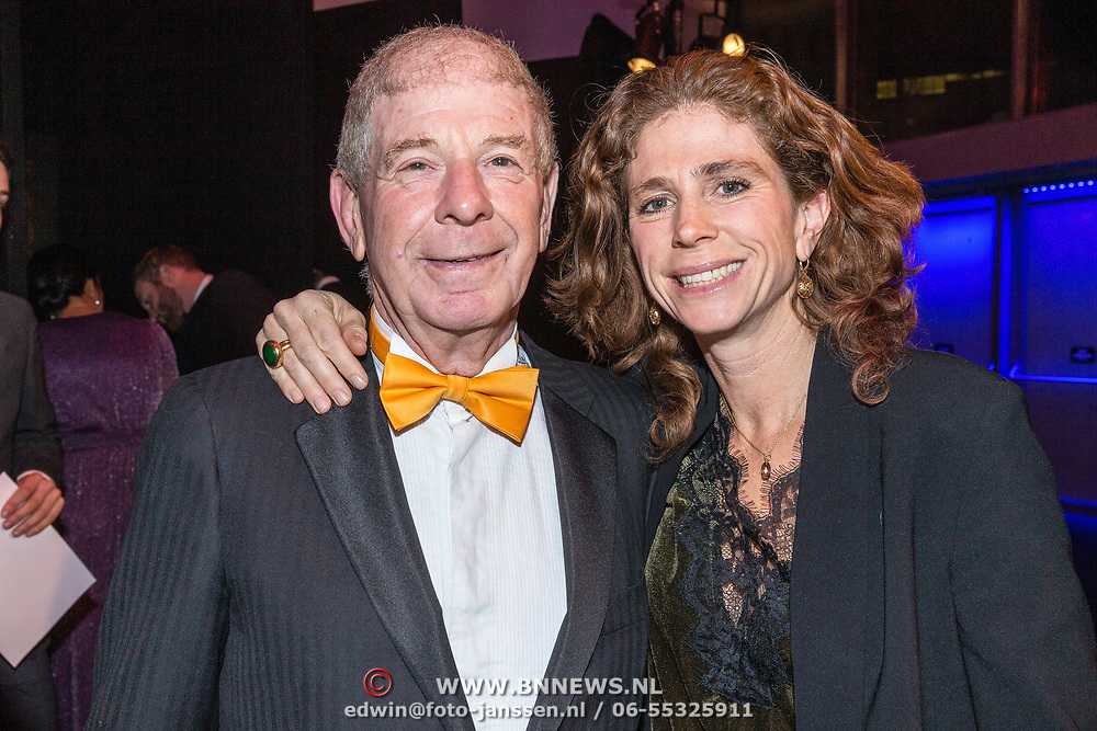 NLD/Amsterdam/20181219 - NOC*NSF Sportgala 2018, Frits Barend en dochter Barbara Barend