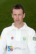 Huw Walters. Glamorgan County Cricket Club, season 2012, photocall at the Swalec Stadium in Cardiff. pic by Andrew Orchard