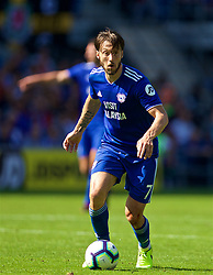 CARDIFF, WALES - Sunday, September 2, 2018: Cardiff City's Harry Arter during the FA Premier League match between Cardiff City FC and Arsenal FC at the Cardiff City Stadium. (Pic by David Rawcliffe/Propaganda)