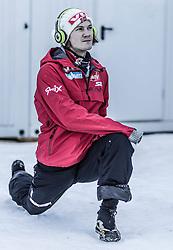 31.12.2013, Olympiaschanze, Garmisch Partenkirchen, GER, FIS Ski Sprung Weltcup, 62. Vierschanzentournee, Training, im Bild Tom Hilde (NOR) // Tom Hilde (NOR) during practice Jump of 62nd Four Hills Tournament of FIS Ski Jumping World Cup at the Olympiaschanze, Garmisch Partenkirchen, Germany on 2013/12/31. EXPA Pictures © 2013, PhotoCredit: EXPA/ JFK