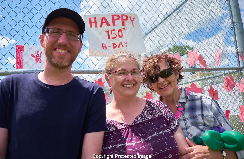 Sarnia, Ontario area with the Cafazzo family, Tuesday, June 27, 2017. (Photo/John Froschauer)