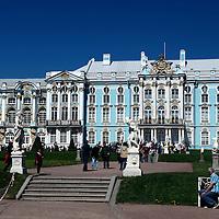 Europe, Russia, Pushkin. Catherine Palace.