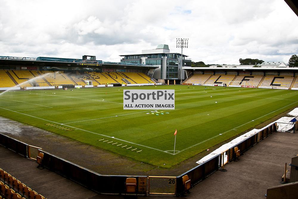 Livingston v Clyde; Scottish League Cup 1st Round, 1st August 2015; The Almondvale Stadium before the Livingston v Clyde Scottish League Cup 1st round match played at Almondvale Stadium; © Chris Johnston | SportPix.org