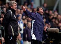 Photo: Richard Lane.<br />Birmingham City v West Bromwich Albion. The Barclays Premiership. 11/03/2006. <br />West Brom manager, Bryan Robson.