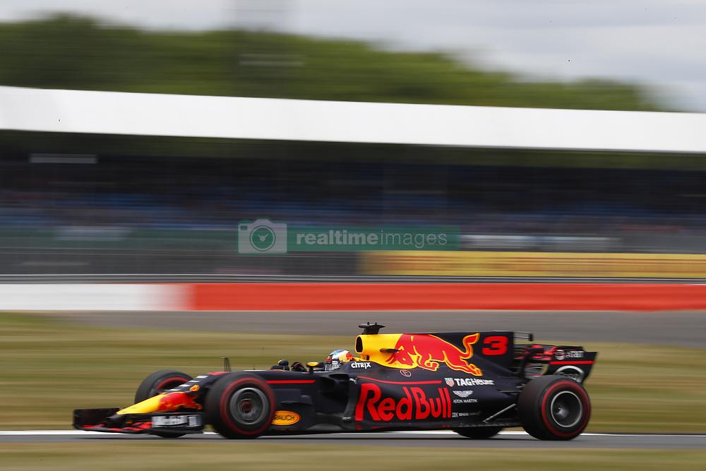 July 14, 2017 - Silverstone, Great Britain - Motorsports: FIA Formula One World Championship 2017, Grand Prix of Great Britain, .#3 Daniel Ricciardo (AUS, Red Bull Racing) (Credit Image: © Hoch Zwei via ZUMA Wire)