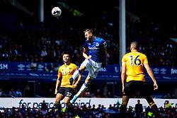 Gylfi Sigurdsson of Everton heads the ball at goal - Mandatory by-line: Robbie Stephenson/JMP - 01/09/2019 - FOOTBALL - Goodison Park - Liverpool, England - Everton v Wolverhampton Wanderers - Premier League